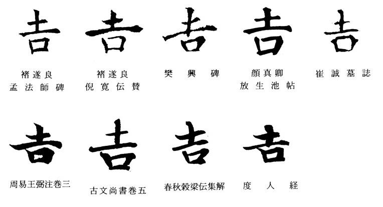 吉」再考: ほぼ文字についてだけのブログ(tonan's blog改)